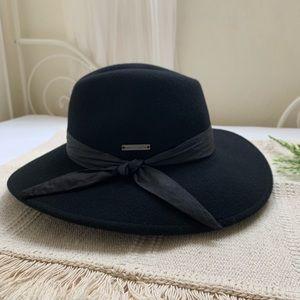 0745b980770 Vince Camuto Wool Tie Panama Hat